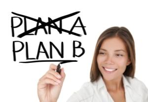 Business plan - woman drawing
